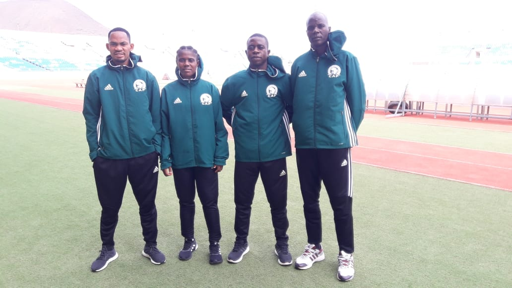 Nigerian Referee in CAF U 23 Semi Final Match