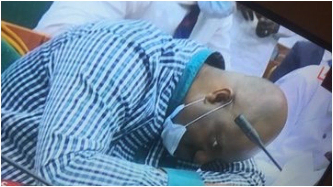 Video: NDDC Acting MD fainted during probe